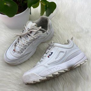 FILA Sneaker White Shoes Lace Up